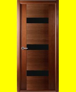 Межкомнатные двери Авангард  плюс орех