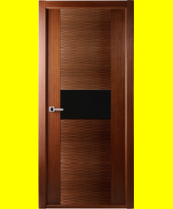 Межкомнатные двери Авангард люкс орех