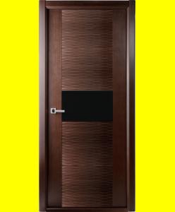 Межкомнатные двери Авангард Люкс венге