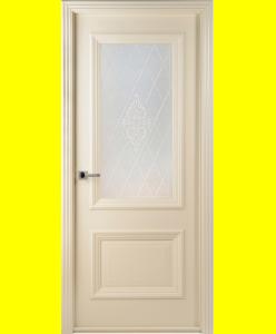 Межкомнатные двери Франческо слоновая кость ПО