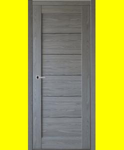 Межкомнатные двери Мирелла серый дуб ПГ
