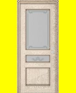 Межкомнатные двери Трио-2 ПО