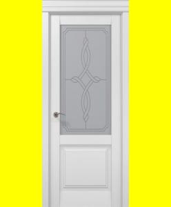 Межкомнатные двери Бланш-11 белый мат