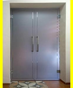 Стеклянные межкомнатные двери 12
