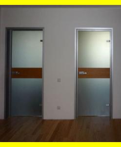 Стеклянные межкомнатные двери 13