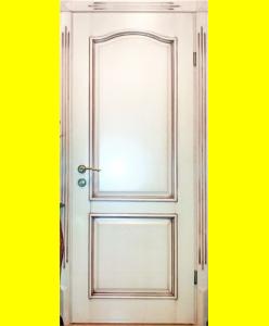 Деревянные двери Массив 37 патина