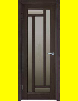 Межкомнатные двери Милан витраж венге Киев