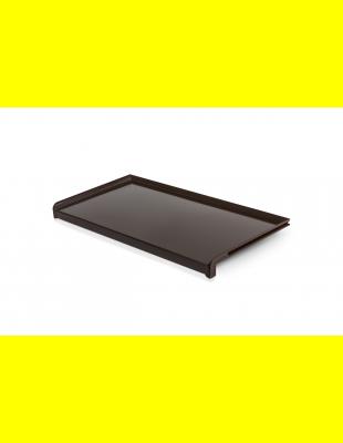 Отлив Коричневый глянец  сталь 150 мм