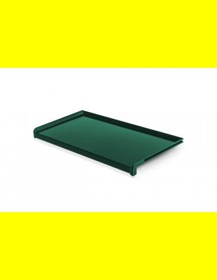 Отлив Зелёный глянец  сталь 150 мм
