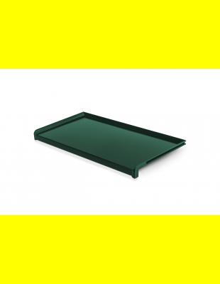 Отлив Зелёный матовый  сталь 150 мм