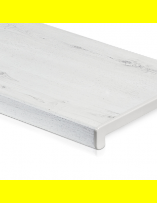 Подоконник Белый дуб глянец прямой Crystalit 150 мм