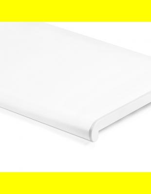 Подоконник Белый матовый закругленный Plastolit 150 мм