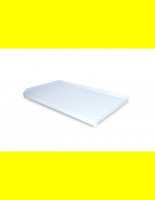 Отлив ВПЛ Белый глянец  пластик 150 мм