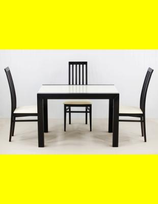Обеденный комплект Фаворит-03 стекло,стулья 6м