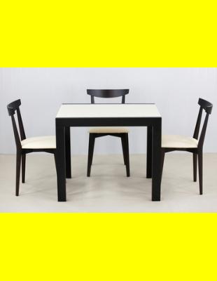 Обеденный комплект Фаворит-01 стекло,стулья 4м