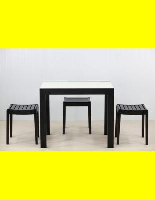 Обеденный комплект Фаворит-01 стекло,стулья 1т