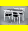 Обеденный комплект Фаворит-02 стекло,стулья 4м