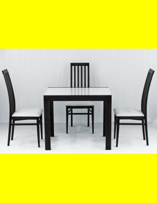 Обеденный комплект Фаворит-01 стекло,стулья 6м