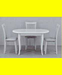 Обеденный комплект Кардинал овал,стулья 7м