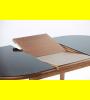 Кухонный стол Кардинал-овал-стекло