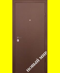 Входные двери Новосёл 1 (мет/массив)