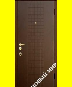 Входные двери Новосёл 7 (МДФ с ПВХ-покрытием)