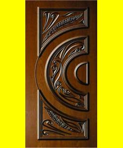 Входные двери Афина патина