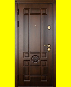 Входные двери Монарх патина