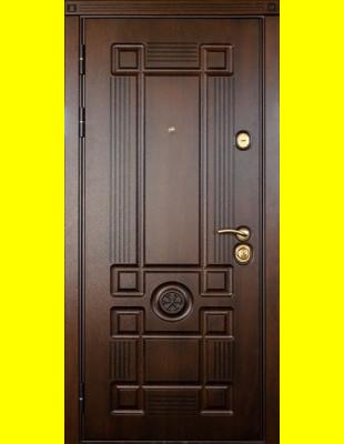 Входные двери недорого Монарх патина