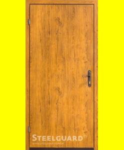 Входные двери 163-1 golden oak
