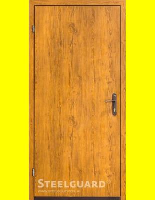 Входные двери недорого 163-2 golden oak