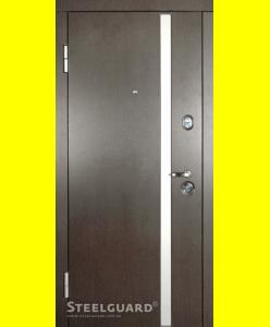 Входные двери AV-1 Венге тем./бел.
