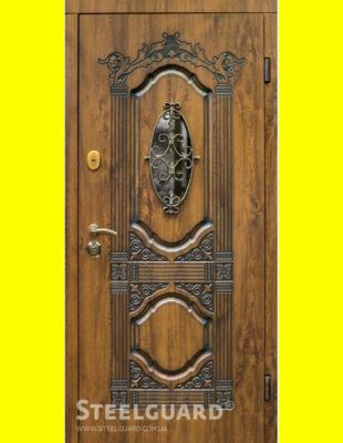 Входные двери недорого Sangria glass