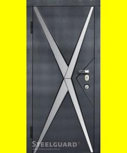 Входные двери Star Chrome