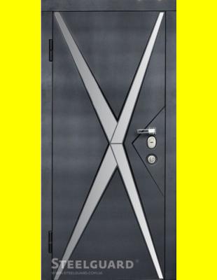 Входные двери недорого Star Chrome