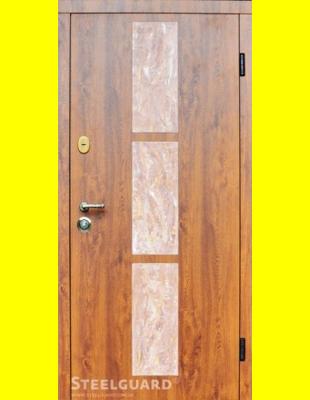 Входные двери недорого Stone-V golden oak