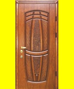 Входные двери R15 патина