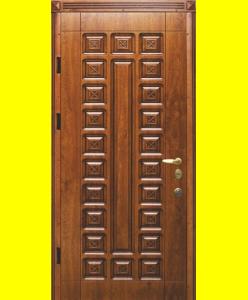 Входные двери R22 патина