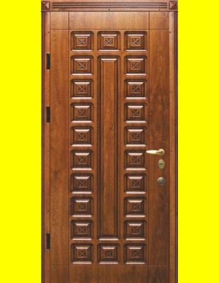 Входные двери недорого R22 патина