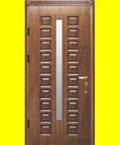 Входные двери R22 Рио патина