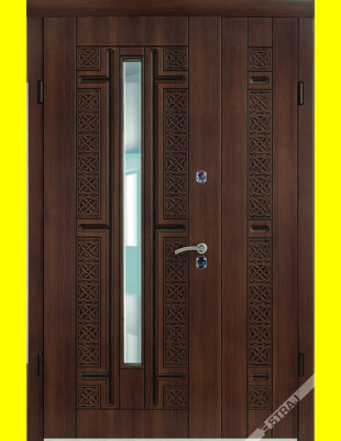 Входные двери недорого R26 Рио 3D патина 1200 (улица)