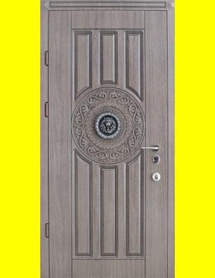 Входные двери недорого R36 Лев патина