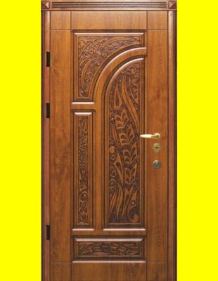Входные двери недорого R38 патина