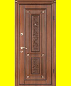 Входные двери Экриз 3D патина