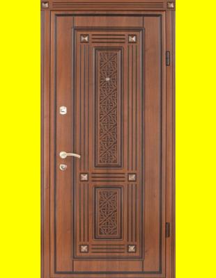 Входные двери недорого Экриз 3D патина