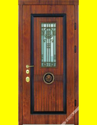 Входные двери недорого Рим Лев патина