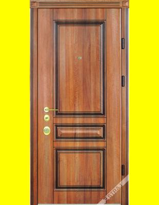 Входные двери недорого Рубин патина