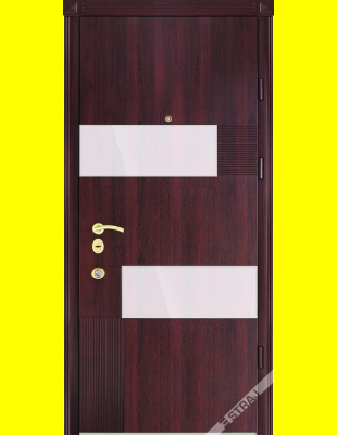 Входные двери недорого Стиль Glass