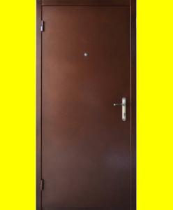 Входные двери Металл/металл с притвором