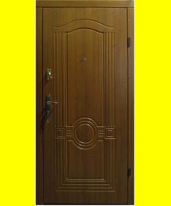 Входные двери Лондон золотой дуб